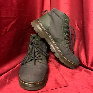 Dr. Martens USA 11 Cloth Top Green Boot